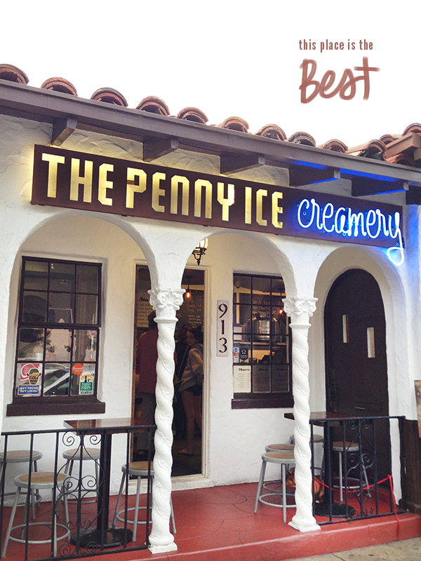 The Penny Ice Creamery in Santa Cruz, California // WeAreAdventure.us
