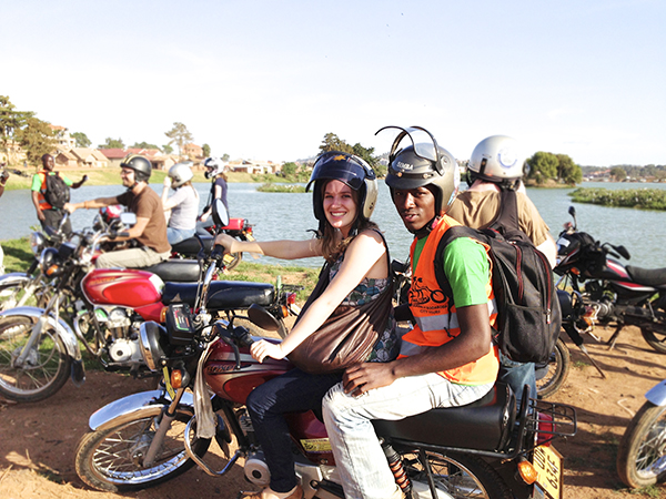 Walter's Boda Boda Tour of Kampala, Uganda // WeAreAdventure.us