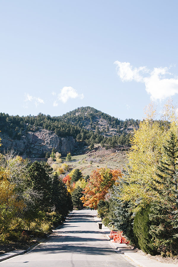 Gorgeous Fall Leaves in Boulder, Colorado // WeAreAdventure.us