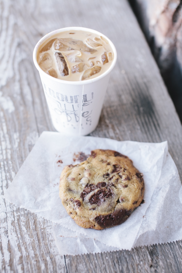 An Iced Coffee & the Most Amazing Chocolate Chip Cookie at Trouble Coffee Shop in the Sunset District of San Francisco, California // WeAreAdventure.us