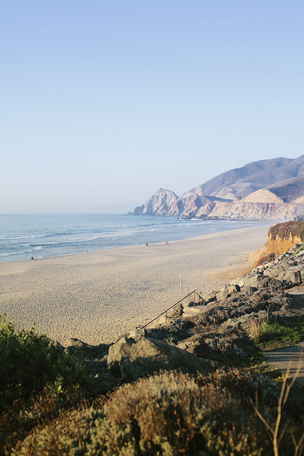 Beach View in California - Enjoy Happy Hour Here! // WeAreAdventure.us