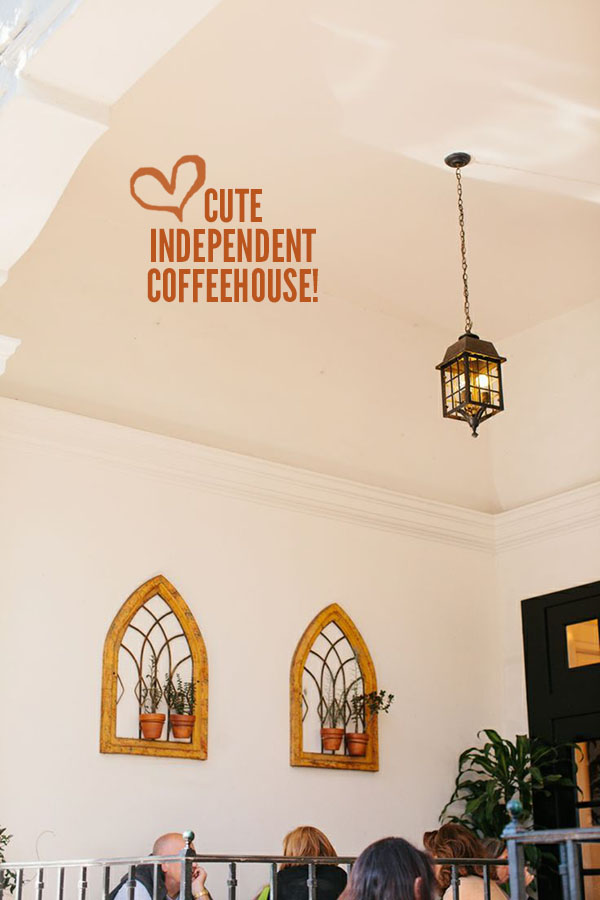The lovely French Press Independent Coffeehouse as part of a Santa Barbara Visitor's Guide // WeAreAdventure.us