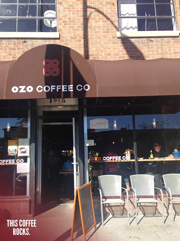 Really Good Coffee at Ozo Coffee Co. in Boulder, Colorado // WeAreAdventure.us