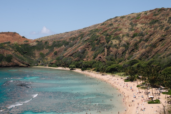 Snorkeling & Hiking at Haunama Bay, Oahu, Hawaii // WeAreAdventure.us