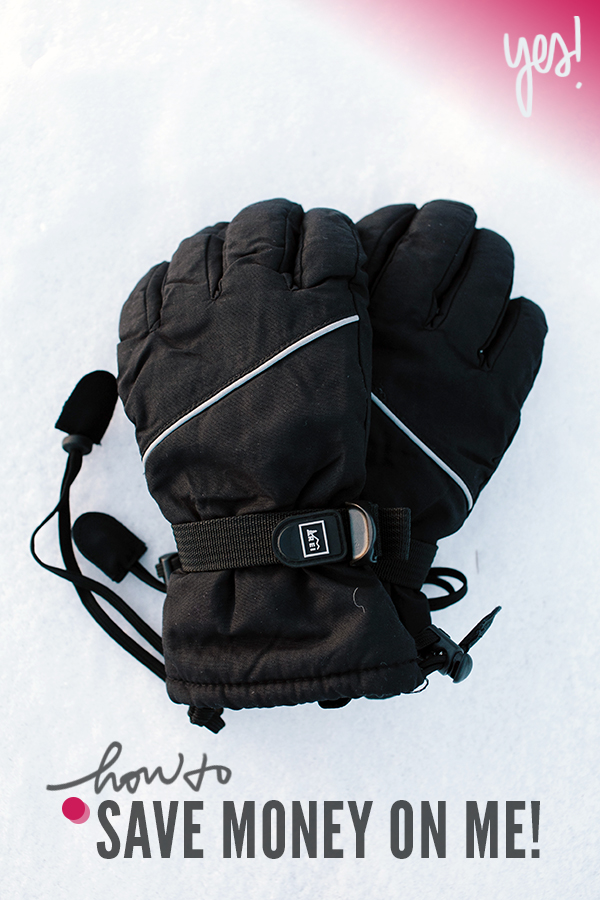 How to Save Money on Great Gear, like Nice Warm Gloves // WeAreAdventure.us