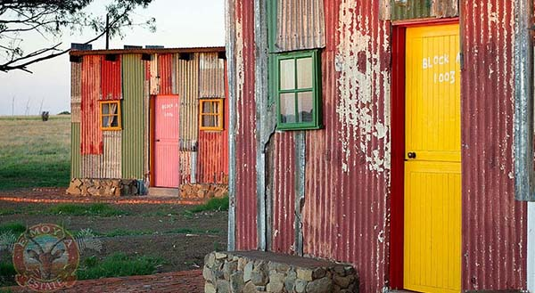 Colorful Shanty Town Style Five Star Hotel in South Africa // WeAreAdventure.us