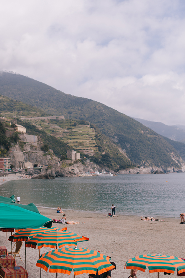 Beach Time! - Beach Day in Monterosso, one of Italy's Cinque Terre   // WeAreAdventure.us