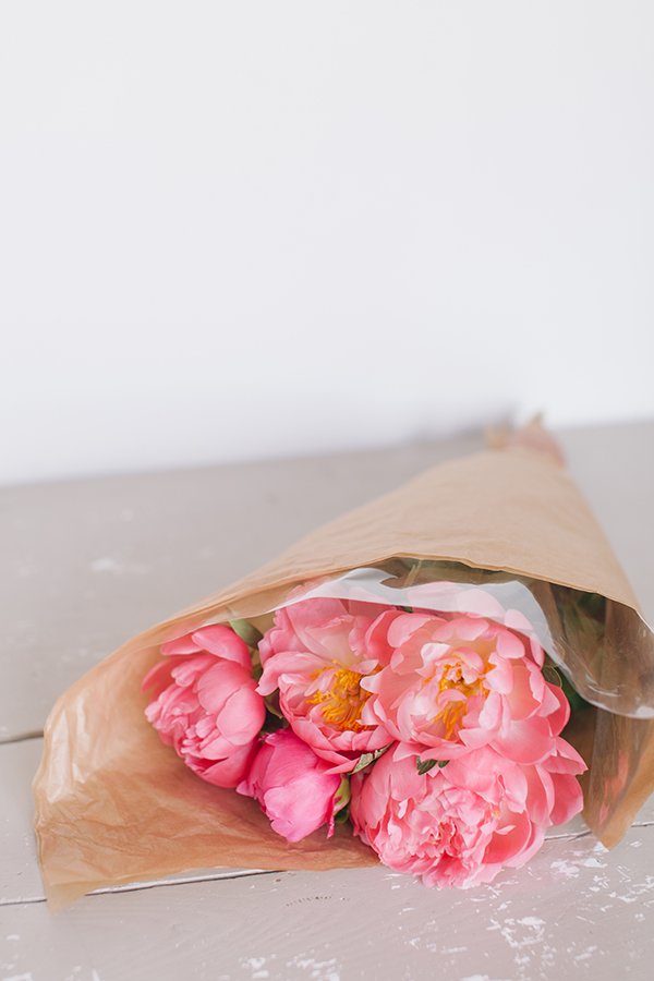 The Prettiest Fresh Pink Peonies in Paris, France - From the Open Air Market! // WeAreAdventure.us