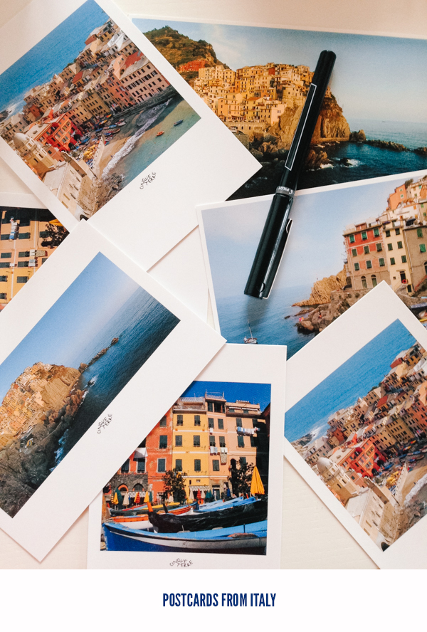 Writing and Sending Postcards from Italy // WeAreAdventure.us