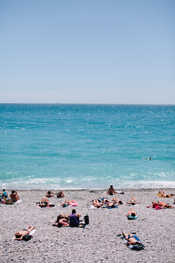 The most beautiful beaches and Nice, France in the French Riviera // WeAreAdventure.us