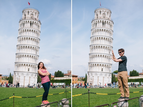 A pretty day in Pisa and a visit to the Leaning Tower of Pisa! - Italy // WeAreAdventure.us