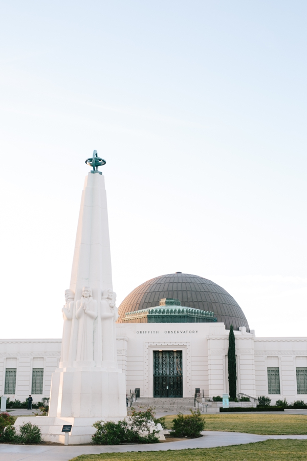 Griffith's Observatory in Los Angeles at Sunrise // WeAreAdventure.us