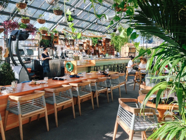 The Commissary At The Line Hotel In Los Angeles Brunch