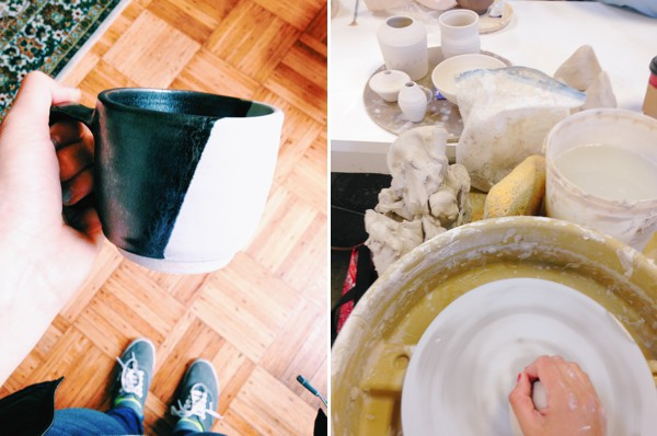 Thoughts on hobbies that make us feel JOY but that we suck at (all thanks to my foray into ceramics) // WeAreAdventure.us